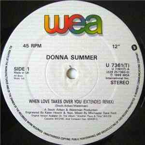 Donna Summer - When Love Takes Over You download mp3 flac